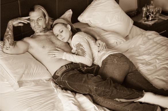 Jeff Hardy & Beth Britt / myspace.com/thehardyshow