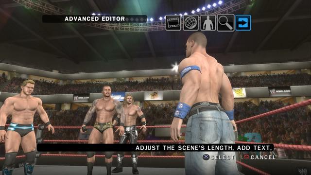 WWE Story Designer - Smackdown vs RAW 2010 / THQ.com