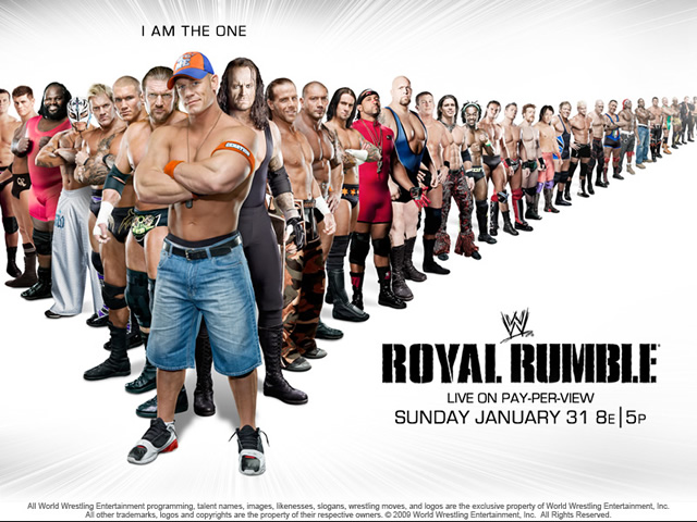 Poster oficial de Royal Rumble 2010