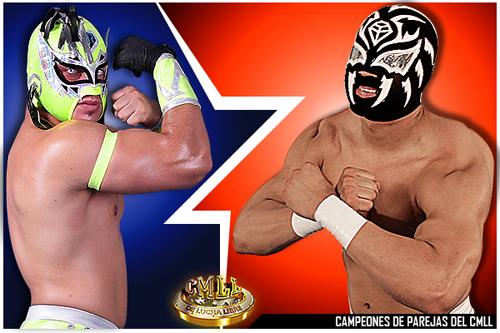 Volador Jr. y Sombra, los más sólidos campeones de parejas que el CMLL ha tenido en varios años / Imagen CMLL.com