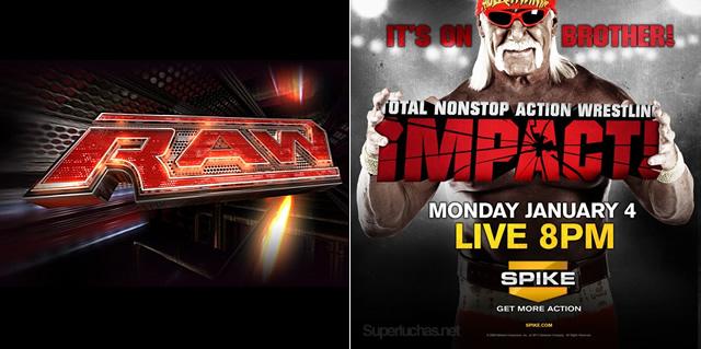 Lunes 4 de enero del 2010, una de las fechas más reelevantes en la historia de la lucha libre Wwe-raw-vs-tna-impact