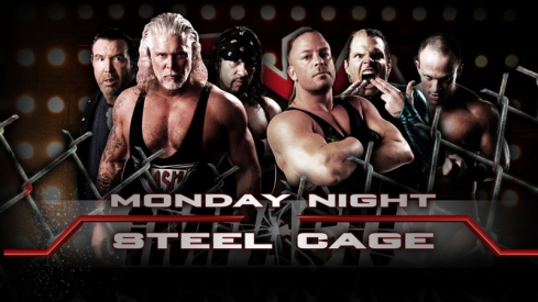 TNA iMPACT! (29 marzo 2010) – Rob Van Dame, Jeff Hardy y Eric Young vs. The Band (Nash, Hall y Pac) Impact3