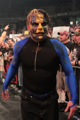 Jeff Hardy en TNA Lockdown 2010 / Photo by TNAwrestling.com en exclusiva para Súper Luchas