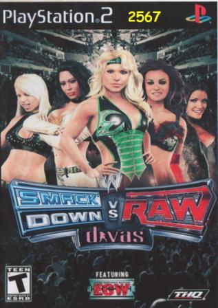 Divas On The Cover Of Smackdown Vs Raw 2011 Superfights