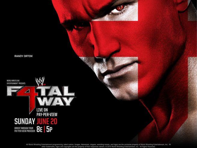 Cartelera WWE Fatal 4 Way 14557206