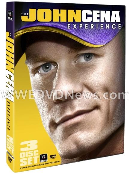 Portada del DVD The John Cena Experience John-cena-experience