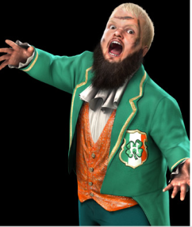 Hornswoggle en Smackdown vs RAW 2011