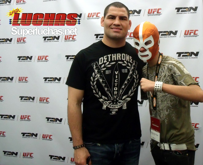 UFC World Heavyweight Champion, Cain Velasquez / Photo by Diego DDC