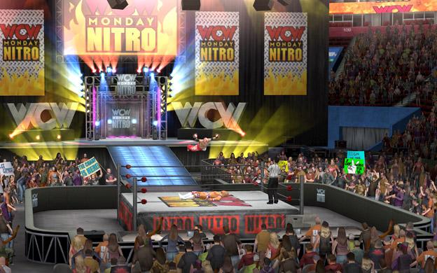 WCW Monday Nitro Arena en WWE SmackDown vs. RAW 2011 / www.wwe.com