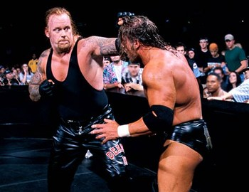 Triple H vs. The Undertaker en WWE WrestleMania 17 – La Revancha 10 años después