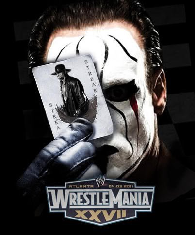 Sting vs. The Undertaker en WrestleMania... ¿Acaso será posible?