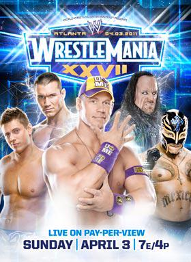 Póster Promocional de WWE WrestleMania XXVII