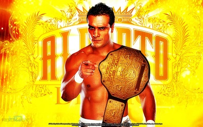 Alberto del Rio - World Heavyweight Champion / Ilustración por Jacobo del Riooo