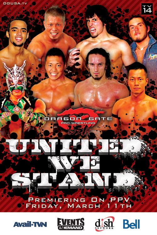 Dragon Gate USA: United We Stand