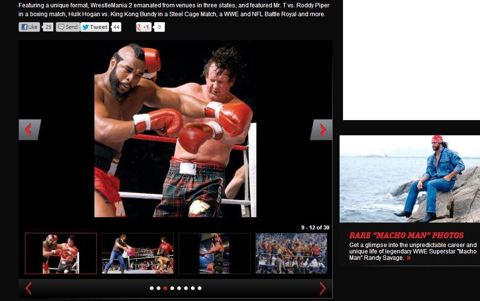 Pipper vs Mr.T|wwe.com