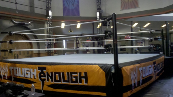 Ring de WWE Tough Enough