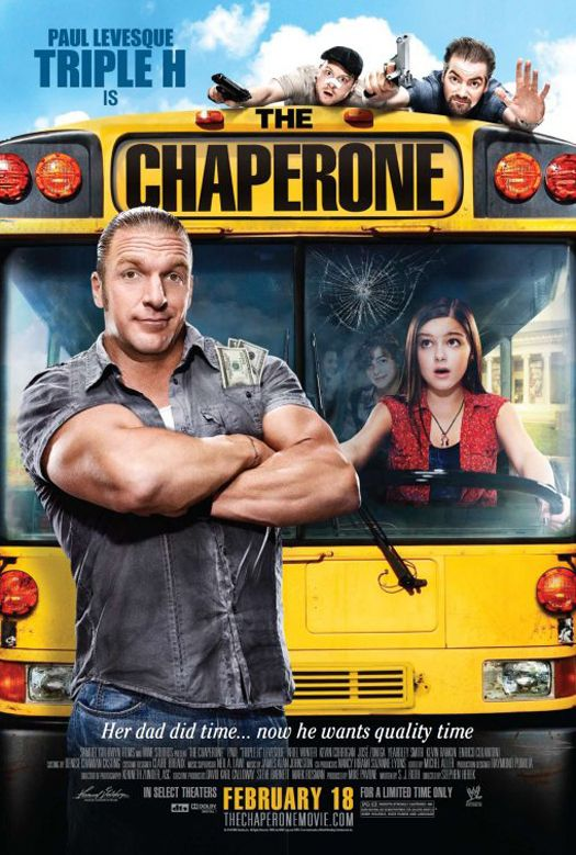 Póster de The Chaperone (Protagonizada por Triple H y Ariel Winter)