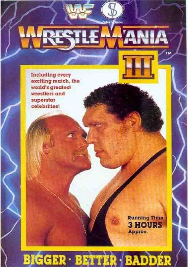 """Wrestlemania III - """"Más grande, mucho mejor, más maldad"""""""