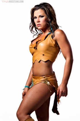 Mickie James / Photo by Lee South, cortesía de TNAwrestling.com para Súper Luchas