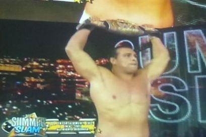 Alberto del Río WWE Champion (14.8.11) / Image by: Johan López