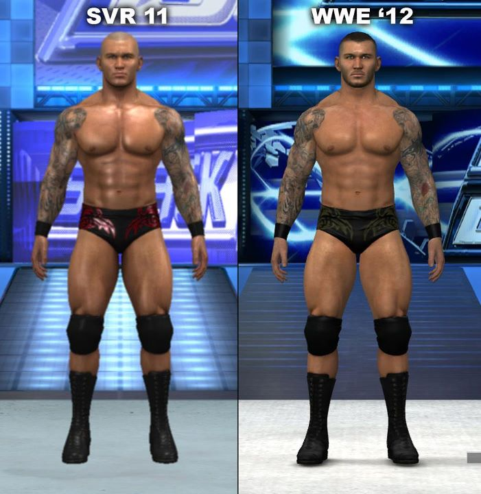 WWE Game Comparison
