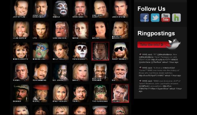 WWE.com(Truth, Miz e Nash)