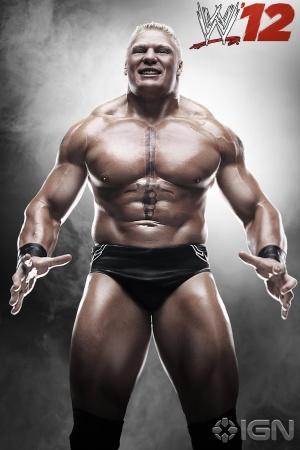 "Brock Lesnar en ""WWE '12″ / IGN.com"