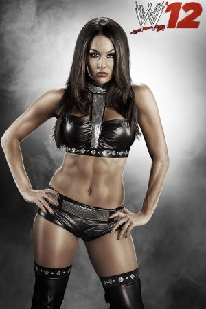 "Nikki Bella en ""WWE '12″"