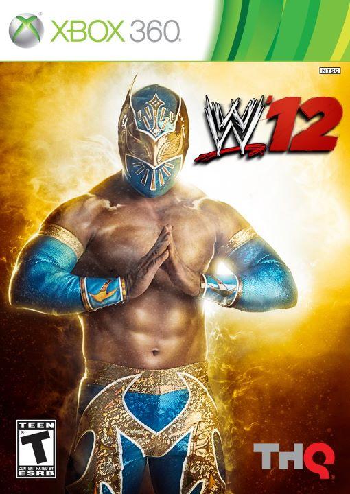 """Portada del videojuego """"WWE '12″ para México"""