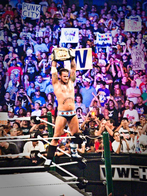 CM Punk / Photo by: iloveread - Wikipedia.org