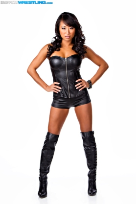 Gail Kim / Photo by: Lee South - Image cortesy of iMPACTWrestling.com to Súper Luchas