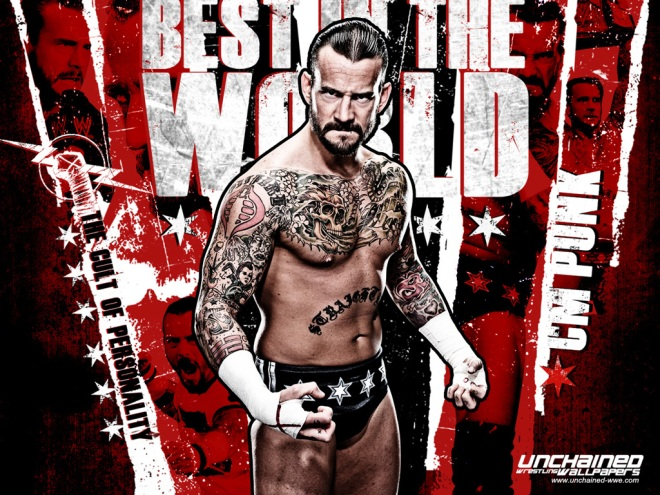 CM Punk - Best in the World Wallpaper / Unchained-WWE.com