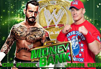 CM Punk vs. John Cena WWE Money in the Bank 2011