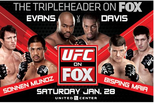 UFC on FOX 2: Evans vs. Davis
