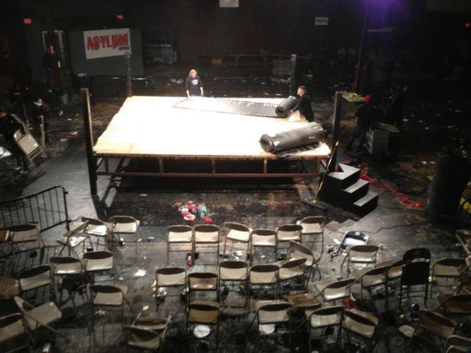 El Fin de una Era: La ECW Arena tras su último show de Wrestling (14.1.12)