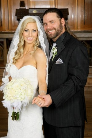 James Storm with beautiful, Wife Dani McEntee