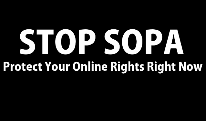 STOP SOPA: Protect Your Online Rights Right Now