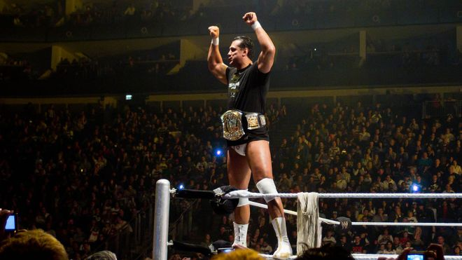 Alberto Del Rio en el WWE Raw World Tour en Londres (2011) / Photo by Ed Webster - Creative Commons Attribution 2.0 Generic license.