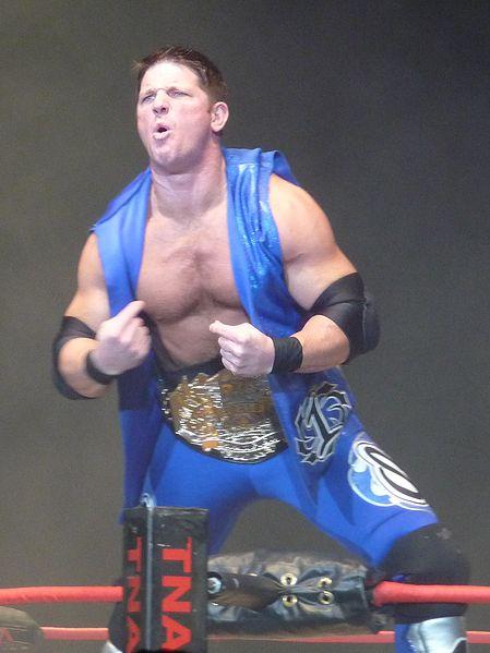 Aj Styles como campeón mundial de TNA / Wikipedia.org