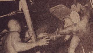 Relámpago pasa una Silla a uno de los Bronco