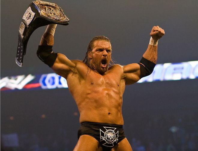 Triple H (2008) / Photo by David Seto - Creative Commons Attribution-Share Alike 3.0 license.