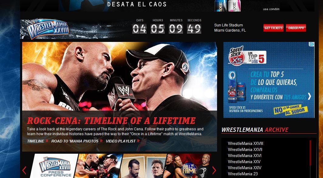John Cena vs The Rock - WWE.com