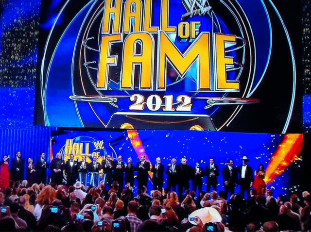 La Clase 2012 del WWE Hall of Fame se reune / Facebook.com/WWE