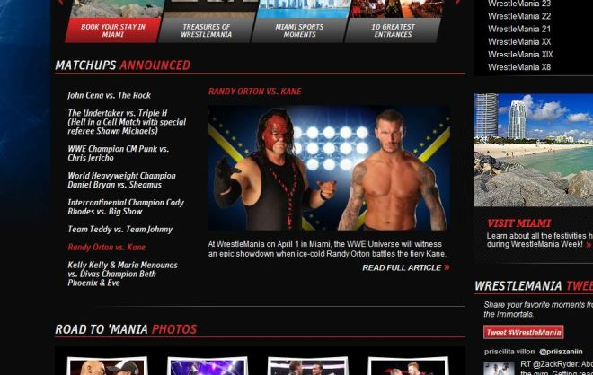 Randy Orton vs Kane - WWE.com
