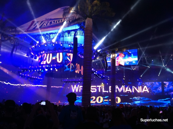 20-0 del Undertaker en Wrestlemania 28 / Photo by Súper Luchas
