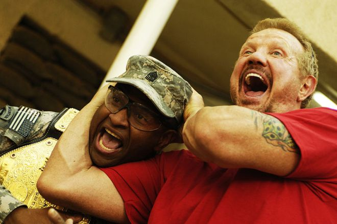 Diamond Dallas Page - Operating Base Rustamiyah, Baghdad, Iraq, (2008) / Photo by Jason Bailey - Creative Commons Search
