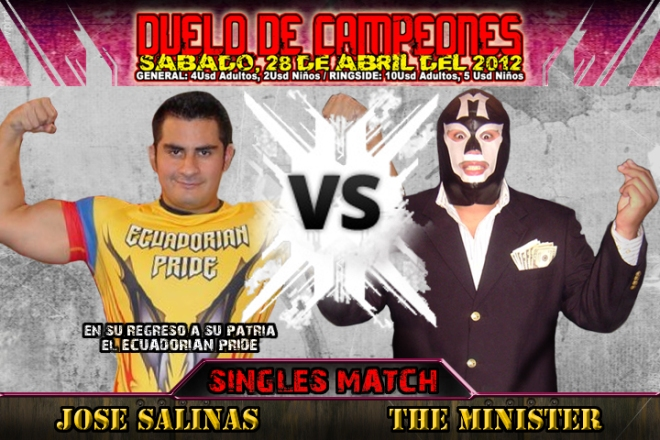 Jose Salinas vs. The Minister