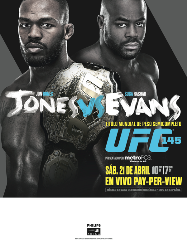 UFC 145: Jones vs Evans