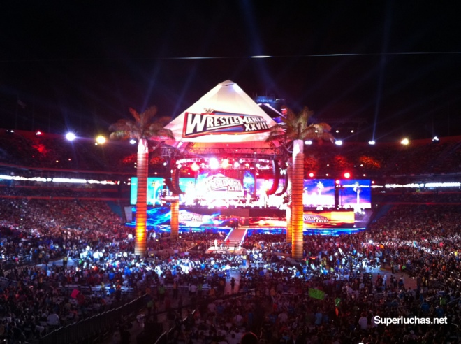 Wrestlemania 28 (1 abril 2012) / Photo by Súper Luchas