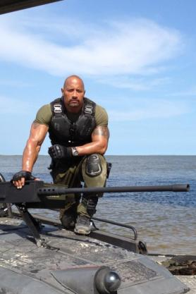 Dwayne Johnson en GiJoe 2 / @TheRock